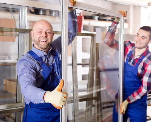 Montage neuer Fenster in Köln