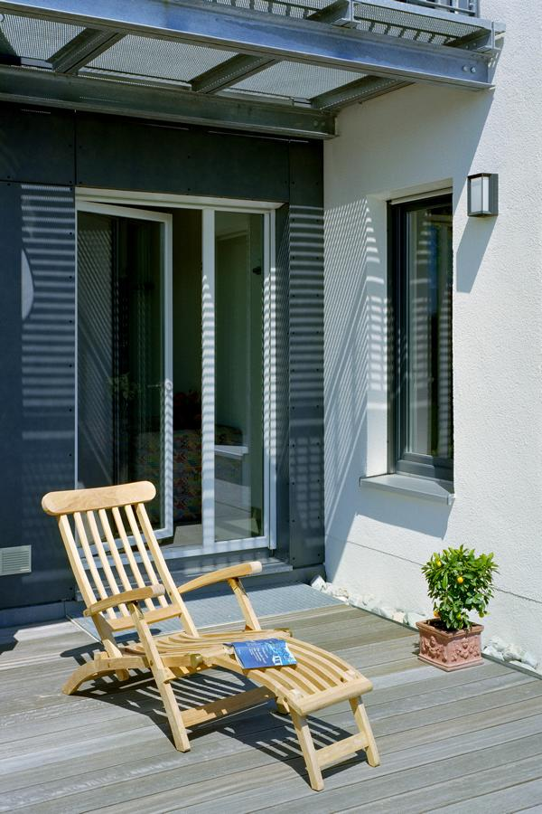 Türen mit Dreh-Kipp-Mechanismus sind die am häufigsten verbauten Balkontüren.