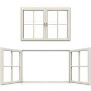 Fenstersprossen gibt es in verschiedenen Ausführungen.