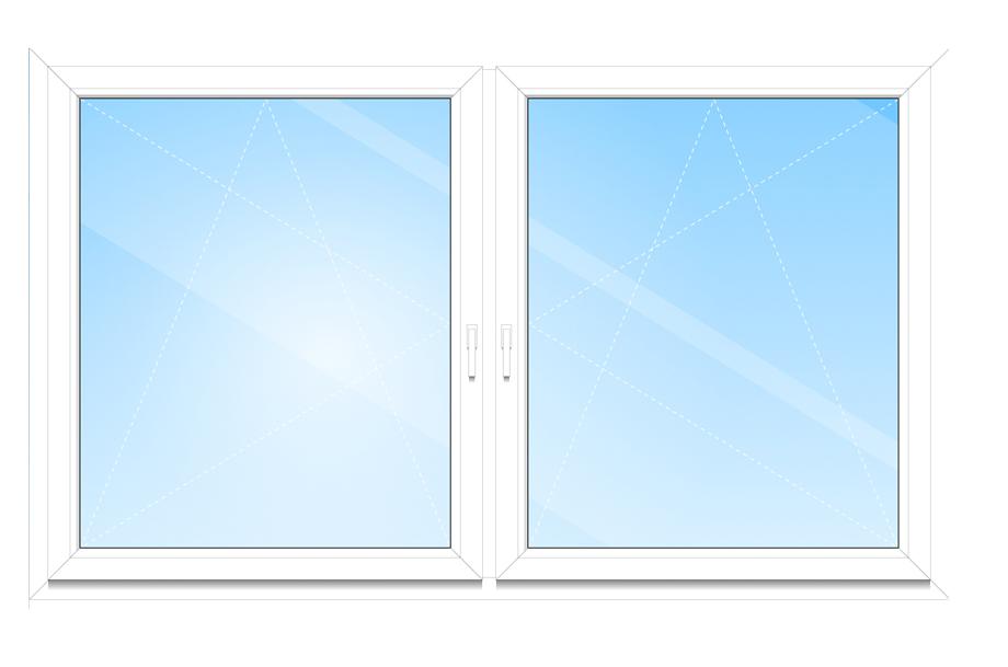 Für eine moderne Innenansicht des fensters können die Fensterbeschläge verdeckt verbaut werden.