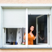 Dreh-Kipp-Fenster lassen sich auch vollständig zum Lüften öffnen.