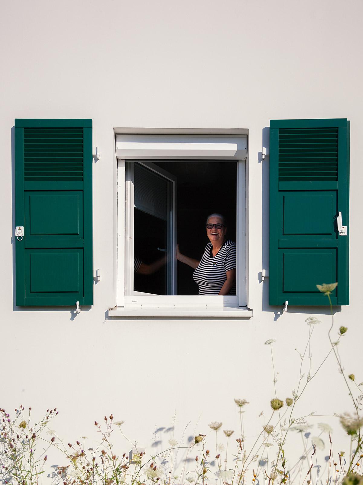 Familie Arndt ist von Ihren neuen fenstern und dem Service der Deutschen Fensterbau begeistert,