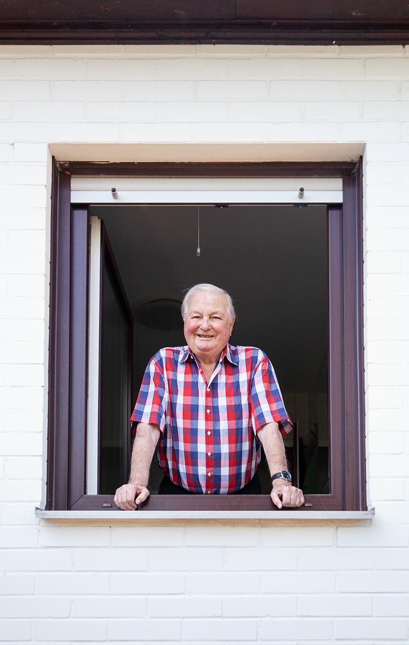 Überzeugt hat Familie Skolik das Gesamtpaket der Deutschen Fensterbau: Gute Betreuung und qualitativ hochwertige Fenster.