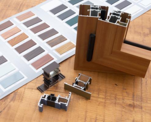 Farben für Fensterprofile