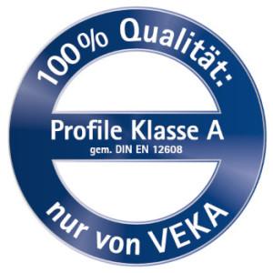 VEKA Profil KLasse A Qualitätslabel