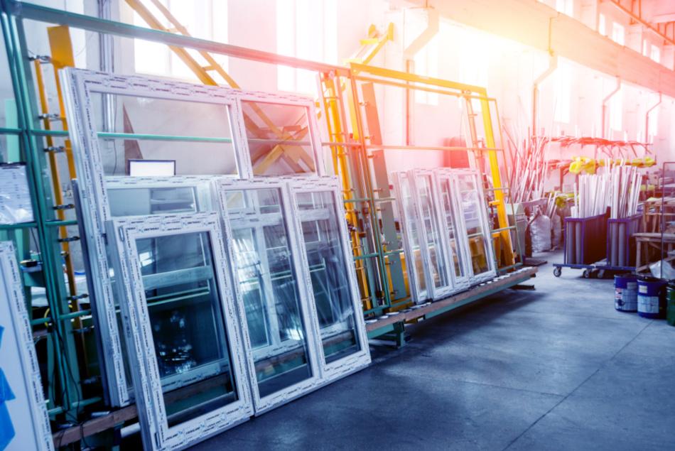 Lager von Fensterhersteller